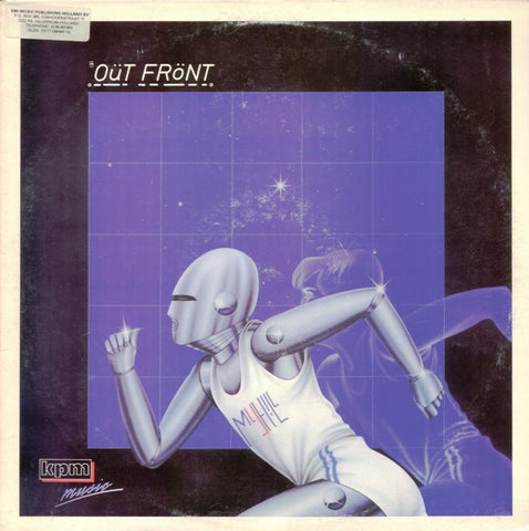Richard Myhill ‎– Out Front - Energy, Prestige And Achievement [VG+/VG+]
