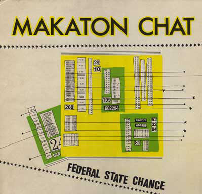Makaton Chat ‎– Federal State Chance [VG+/VG+]