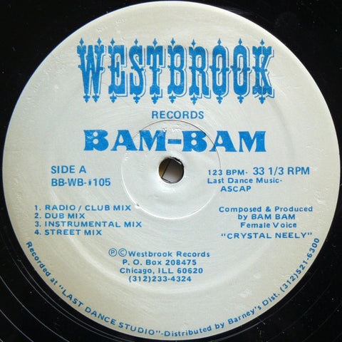 Bam-Bam ‎– Give It To Me [VG]