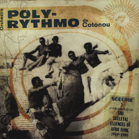 Orchestre Poly-Rythmo De Cotonou ‎– The Skeletal Essences Of Afro Funk 1969-1980 [VG+/VG+]