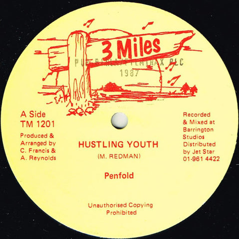 Penfold, Fathead, Tenor Fly ‎– Hustling Youth [VG]