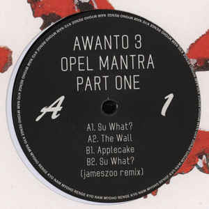 Awanto 3 - Opel Mantra Part One [VG+/VG+]