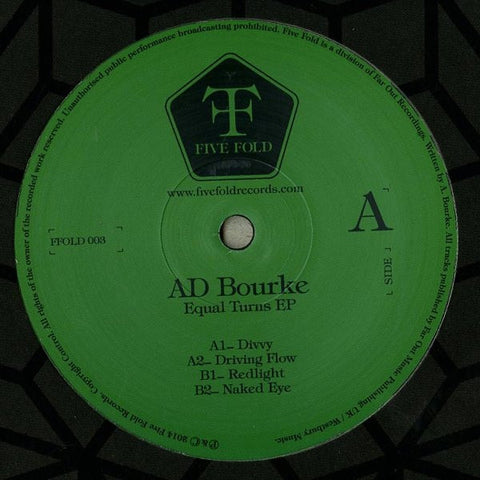 Ad Bourke - Equal Turns EP