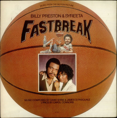 "Billy Preston & Syreeta ‎– Music From The Motion Picture ""Fast Break"" [VG/VG]"
