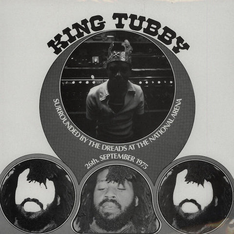 King Tubby ‎– Surrounded By The Dreads At The National Arena 26th. September 1975 [VG+/VG+]