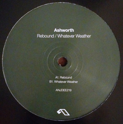 Ashworth - Rebound / Whatever Weather