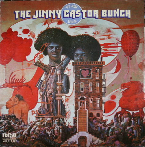 The Jimmy Castor Bunch ‎– It's Just Begun [VG+/VG+]