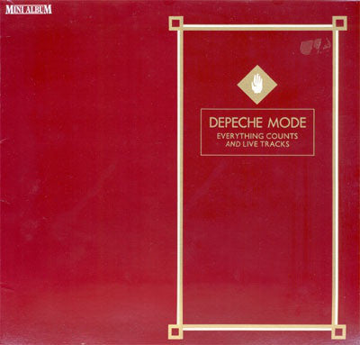Depeche Mode ‎– Everything Counts And Live Tracks [VG+/VG+]
