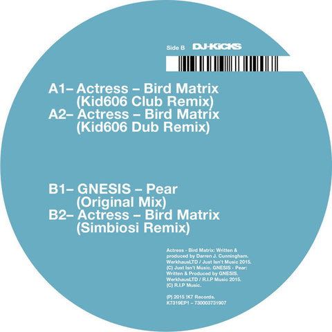 Actress ‎– Bird Matrix (Remixes) [VG+]