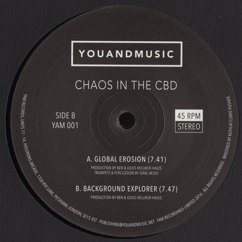 Chaos In The CBD ‎– Global Erosion [Repress Pre-Order]