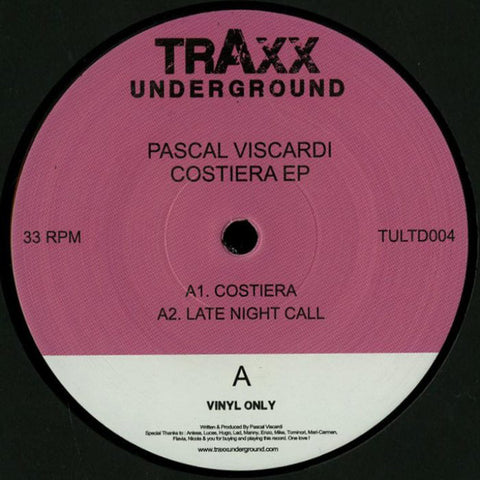Pascal Viscardi - Costiera EP [VG+]