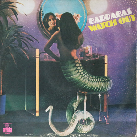 Barrabas ‎– Watch Out [VG+/VG+]