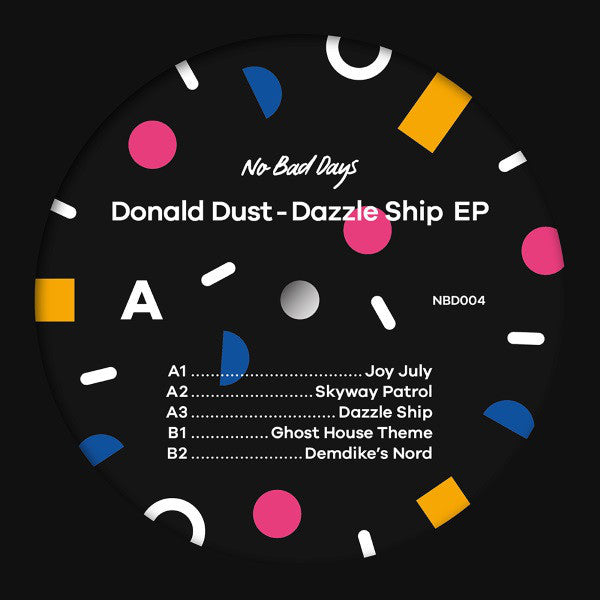 Donald Dust ‎– Dazzle Ship EP