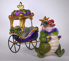 "Katherine's Collection 13"" Captain Bayou Gator Chariot ( Chariot Only) Free Ship-IN STOCK"