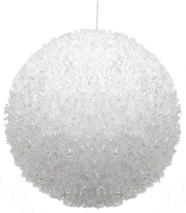 "Katherine's Collection Set Six  8"" Large Sparkle Snowball Ornaments Free Ship-IN STOCK"