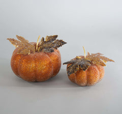 "Katherine's Collection The Gilded Seasons Collection Four 5-7"" Small Beaded Pumpkins Free Ship"