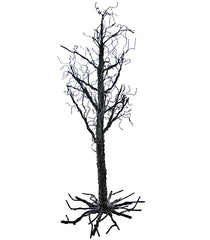 "Katherine's Collection Tricky Treats Halloween Collection 40"" Spooky Black Twig Wire Tree Free Ship"
