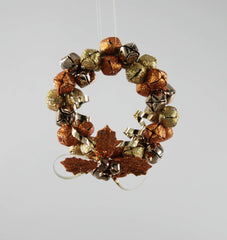 "Katherine's Collection The Gilded Seasons Collection Twelve 5"" Bottle Wreaths Free Ship"