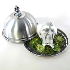 "Katherine's Collection Dead And Breakfast Halloween Collection 9"" Tabletop Breakfast Is Served Free Ship"