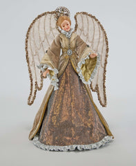 "Katherine's Collection The Gilded Seasons Collection 20"" Celebrations Angel Tree Topper Free Ship"