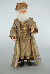"Katherine's Collection The Gilded Seasons Collection 20"" Celebrations Santa Claus Doll Free Ship"