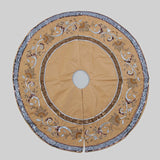 "Katherine's Collection The Gilded Seasons Collection 64"" Celebrations Tree Skirt Free Ship"