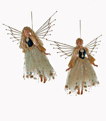 "Katherine's Collection Celestial Fantasy Christmas Collection Two 18"" Poseable Fairy Dolls Free Ship"