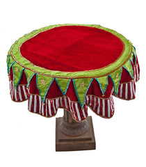 "Katherine's Collection Noel Christmas Collection 54"" Cirque Table Overlay Free Ship"