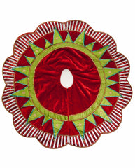 "Katherine's Collection Noel Christmas Collection 70"" Cirque Tree Skirt Free Ship"