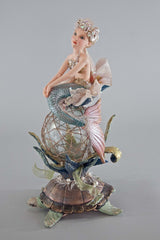 "Katherine's Collection Coastal Celebrations Collection 17"" Coastal Mermaid Figurine Free Ship"