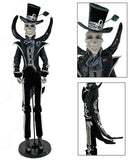 "Katherine's Collection Frida Love Halloween Collection 37"" Diego El Flaco Skeleton Doll Free Ship"
