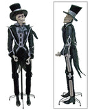 "Katherine's Collection Frida Love Halloween Collection Lifesize 65"" Diego El Glaco Skeleton Display Doll Free Ship"