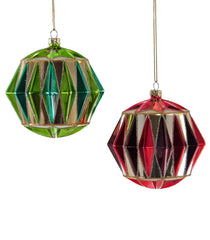 Katherine's Collection Noel Christmas Collection Twelve Assort 100 mm Dimentional Circus Glass Ornaments Free Ship