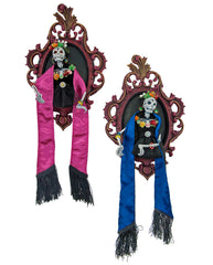 "Katherine's Collection Frida Love Halloween Collection Set Two 14"" Frida Love Frames Free Ship"