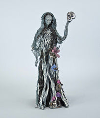 "Katherine's Collection Forest Cemetery Halloween Collection 18"" Ghosty Lady Table Top Figurine Free Ship"