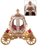 "Katherine's Collection Happily Ever After Christmas Collection 22"" Gilded Egg Coach Free Ship"