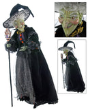 "Katherine's Collection 32"" Greta Halloween Witch Doll Free Ship-ONLY ONE LEFT IN STOCK"