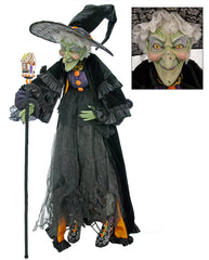 "Katherine's Collection Tricky Treats Halloween Collection 60"" Life Size Greta Witch Doll Free Ship"