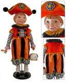 "Katherine's Collection Tricky Treats Halloween Collection 32"" Hanzel Doll Free Ship"