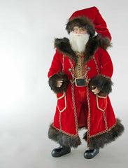 "Katherine's Collection Holiday Cheer Christmas Collection 24"" Santa Doll Free Ship"