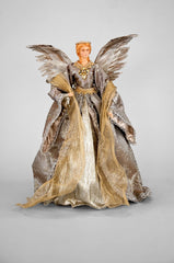 "Katherine's Collection The Gilded Seasons Collection 17"" Holiday Cone Angel Free Ship"