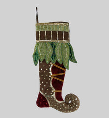 "Katherine's Collection Into The Woods Collection Two Assort 20"" Woodland Curled Toe Stockings Free Ship"