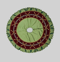 "Katherine's Collection Into The Woods Collection 64"" Woodland Tree Skirt Free Ship"
