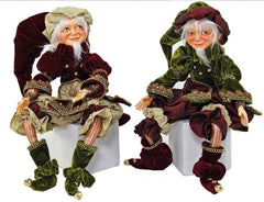 "Katherine's Collection A Christmas Journey Christmas Collection 18"" Journey Elf Doll Set Free Ship-IN STOCK"