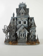 "Katherine's Collection Dead And Breakfast Halloween Collection 18"" Tabletop Manor House Free Ship"
