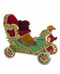"Katherine's Collection Noel Christmas Collection 15"" Cirque Christmas Carriage Free Ship"