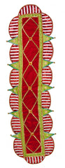 "Katherine's Collection Noel Christmas Collection 19 x 72"" Cirque Table Runner Free Ship"