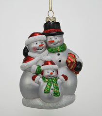 "Katherine's Collection Noel Christmas Collection Twenty-Four Approx 4"" Family Snowman Ornaments Free Ship"