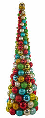 Katherine's Collection Noel Christmas Collection 36 Noel Multi Color Table Top Christmas Tree Free Ship