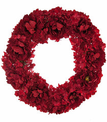 "Katherine's Collection Noel Christmas Collection 30"" Peony And Hydrangea Christmas Wreath Free Ship"